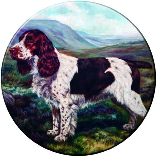 SPRINGER SPANIEL 4x4 Spare Wheel Cover DECAL STICKER